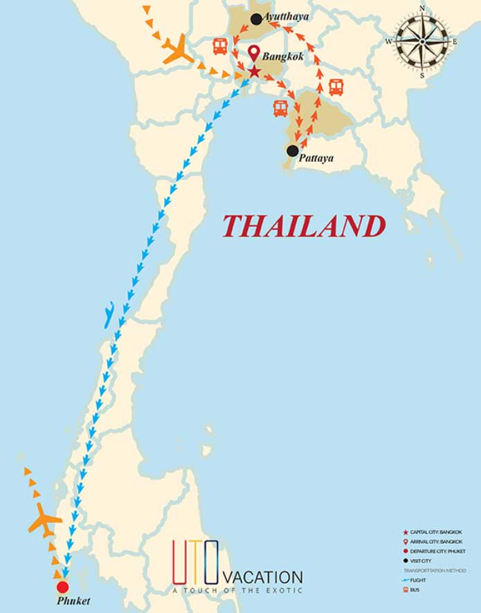 Gems Of Thailand 10 Days Usa Depart
